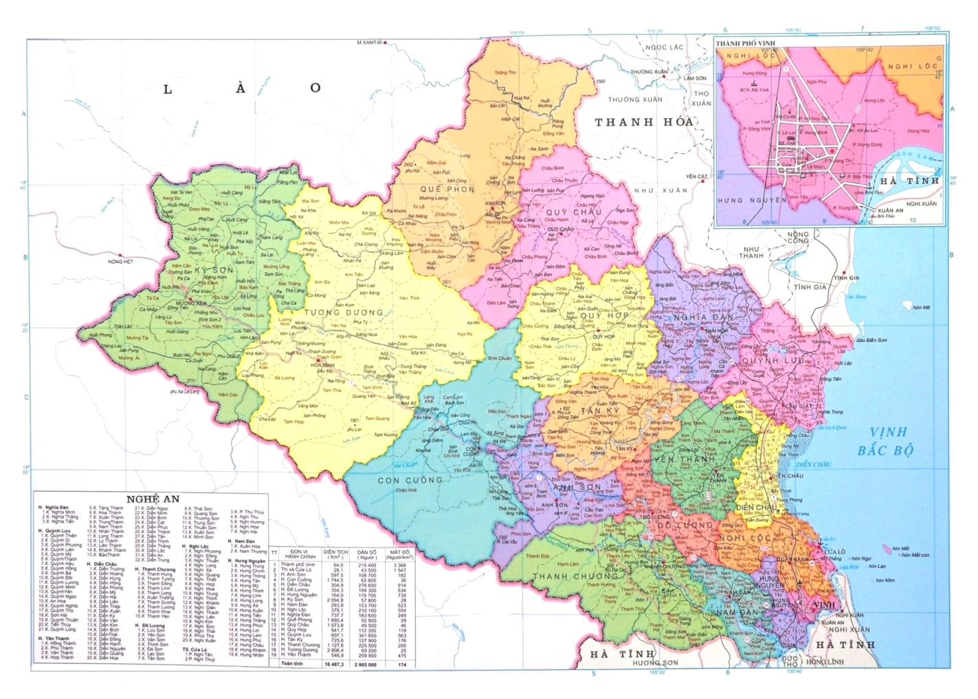 Home > VN Map > Nghe An Province